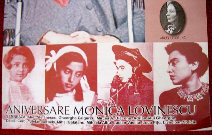 Scriitorii care au contribuit la realizarea Numarului 4 din 2003 dedicat Monicai Lovinescu la revista Hyperion