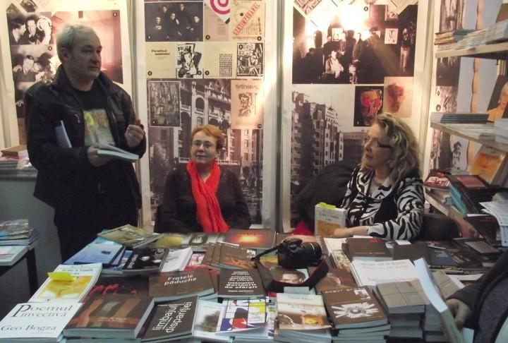 Conferențiind despre carte: Mihail Gălățanu, Simona Grazia Dima