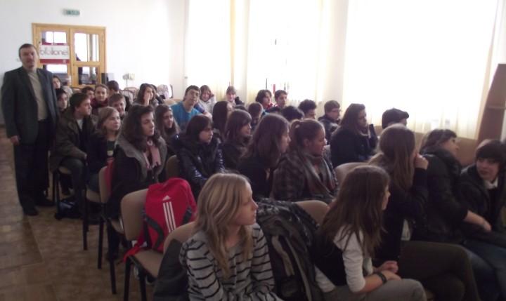 Romica Grosu, tineri elevi, Angela Furtuna