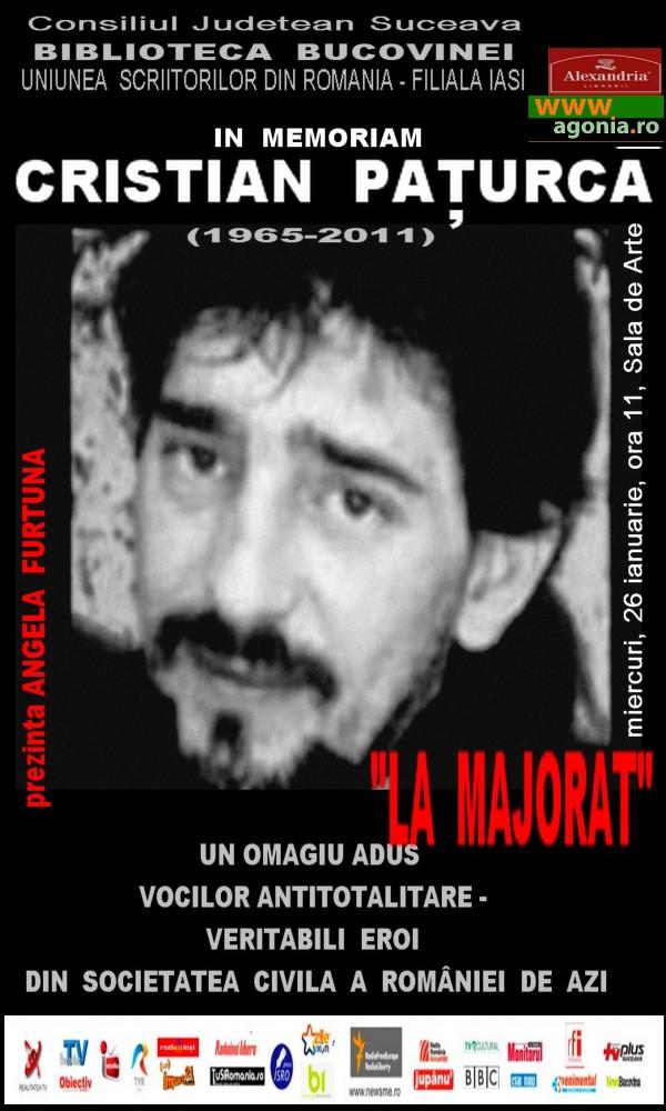 Un omagiu adus vocilor antitotalitare - veritabili eroi ai societăţii civile din România de azi