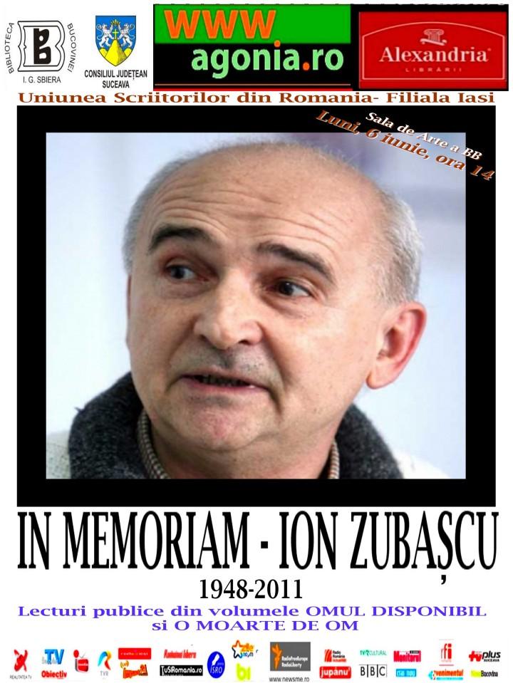 In Memoriam - Ion Zubascu (1948 - 2011)