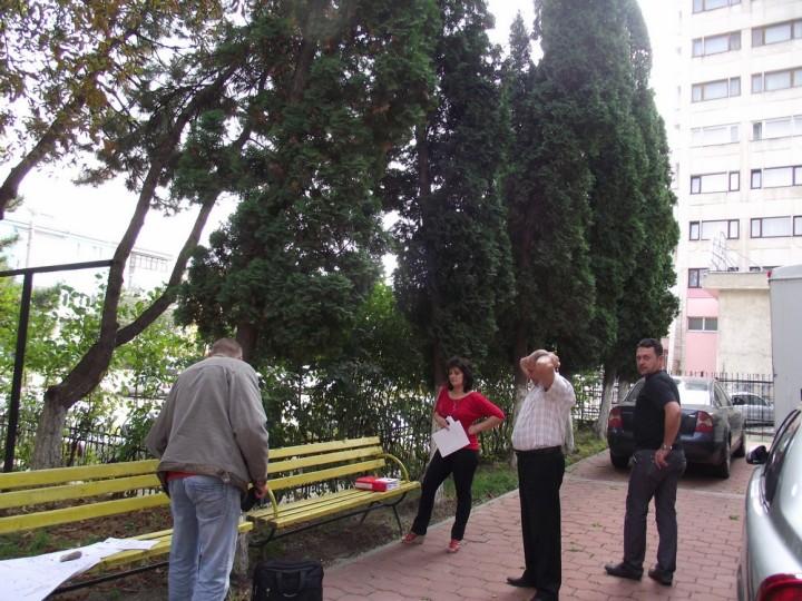 1 - Oprirea tăierilor de copaci - temporar, pe 23 septembrie, ora 14. Curtea Bibliotecii Bucovinei.