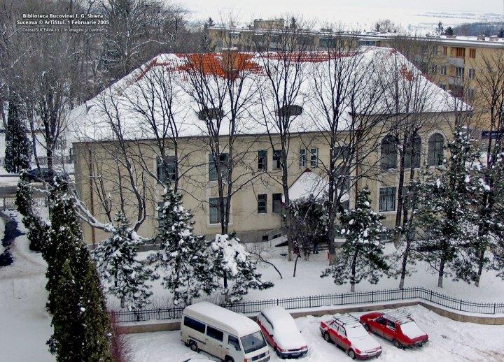 Biblioteca Bucovinei, cu cei 14 copaci , autor ArTisTul, fotografii-2010-07-11-biblioteca-bucovinei-i-g-sbiera-1