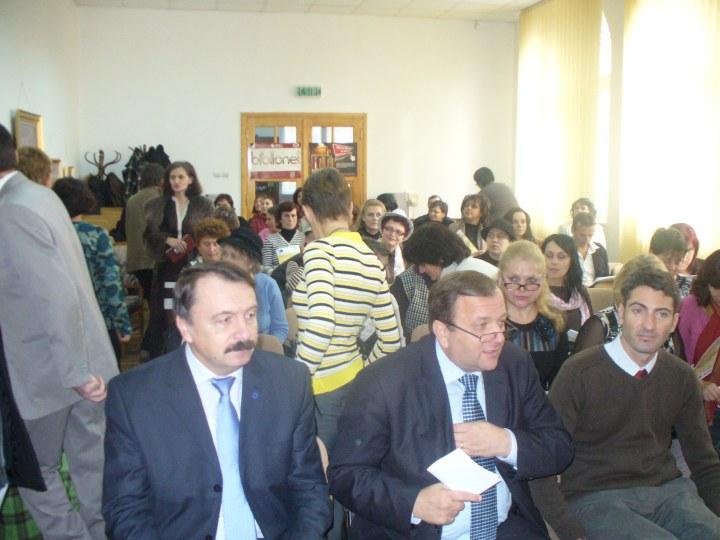 Vasile Ilie Gheorghe Flutur si evenimentul public din 24 noiembrie 2011 romano ucrainean cultural