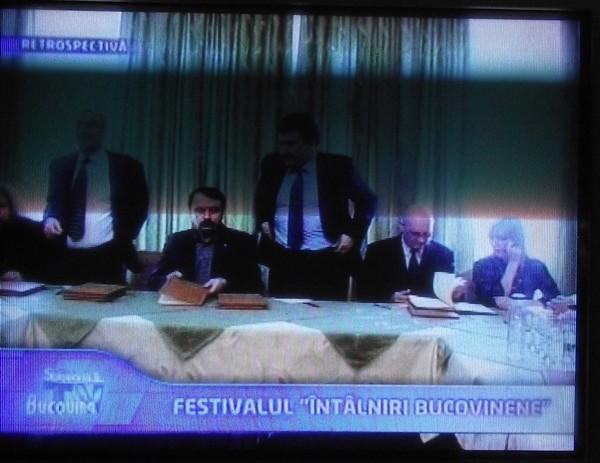 vasile ilie intalniri bucovinene international 17 ian 2012 emisiune ioan manole.2