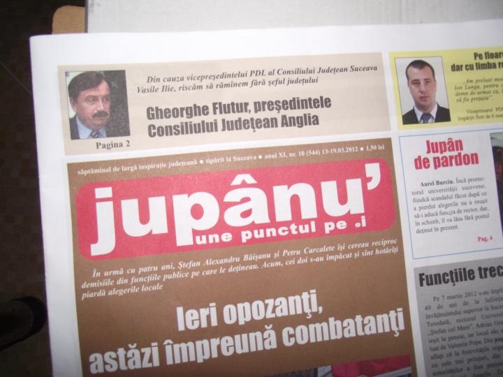 Vasile Ilie adulat de Jupanu, nr. 10 - 544 din anul x, 13 - 19 martie 2012