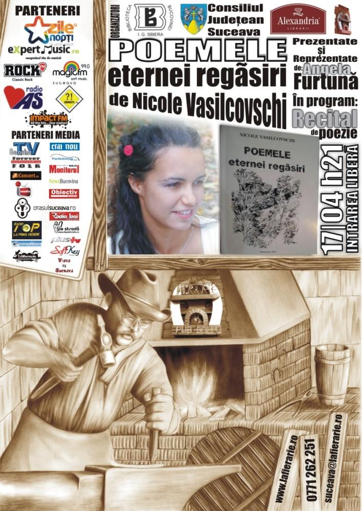 PR Angela Furtuna La Fierarie Lansare Nicole Vasilcovschi 17 aprilie ora 17