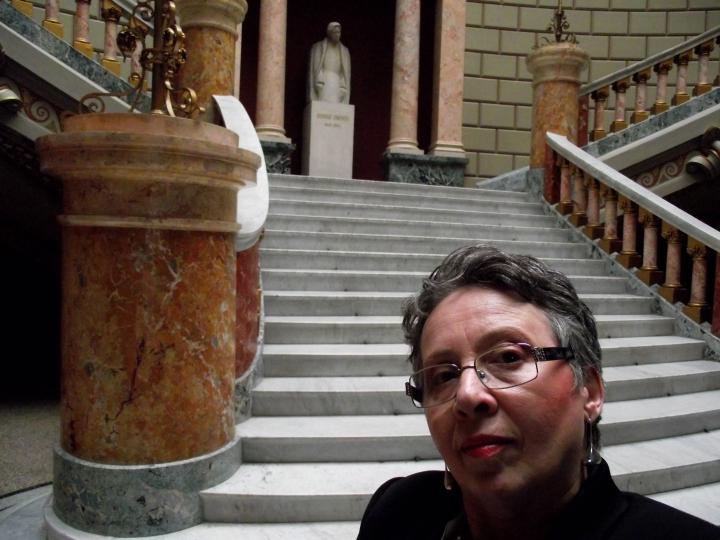 Angela Furtuna Archives. Dor de George Enescu.  Ateneul Roman, 15 aprilie 2013. Conferinta Basarab Nicolescu despre Transdisciplinaritate.