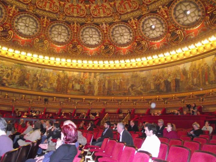 Angela Furtuna Archives. Frumosul Ateneu.  Ateneul Roman, 15 aprilie 2013. Conferinta Basarab Nicolescu despre Transdisciplinaritate.